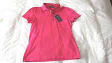 MWT Ralph Lauren Polo Golf Women's Top  Sz. Medium Pink Pima Cotton  NEW $90