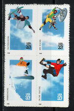 3321 - 3324 * EXTREME SPORTS *   U.S. Postage Stamps Block Of 4 MNH