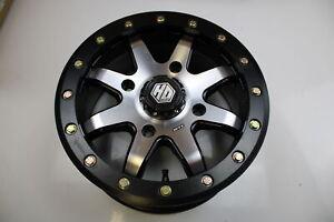 STI HD9 BEADLOCK WHEEL 14/8 4/110 MATTE BLACK #14HB9008