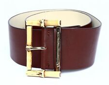 Kate Spade Wide Waist Women's Brown Belt Sz S 3502