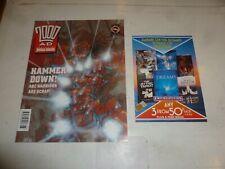 2000 AD Comic - PROG 757 - Date 16/11/1991 - UK Fleetway Comic - Inc BOOK Flyer