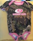 EUC Girls 24M Mossy Oak 1-Z, Camo w/Pink Trim, BIN