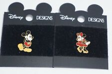 DISNEY Collectible Pin - Mickey and Minnie Pins Set  - Vintage Circa mid 2000's