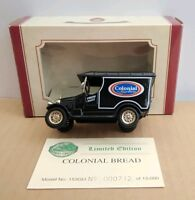 OXFORD DIECAST LIMITED EDITION BULLNOSE MORRIS - COLONIAL BREAD NO.712 OF 15000