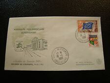 FRANCE - enveloppe 16/1/1961 yt service n° 17 (cy19) french