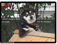 Funny Dog Siberian Husky Refrigerator / Tool Box Magnet