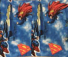 "DC Comics Superman Pillowcase Sham 21"" x 27"".  Cotton blend."
