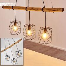 moderne Pendel Lampen Hänge Leuchte Wohn Schlaf Ess Zimmer Raum Beleuchtung Holz