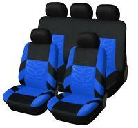 Komplettsatz Blau Schonbezüge Sitzbezüge Hochwertig Komfort passend für