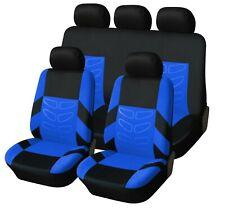 Komplettsatz Blau Schonbezüge Sitzbezüge Hochwertig Komfort passend für Skoda VW