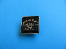 Scotch Whisky / Whiskey Pin Badge. Johnnie Walker, Black Label.12 Year Malt,