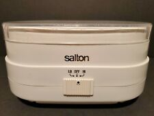 Salton Jewelry Spa 89 Electric Jewelry Cleaning Machine White Tested and Working