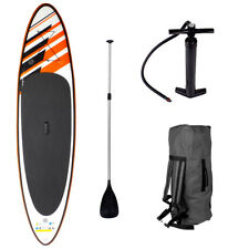 SUP Board Stand Up Paddle Surf-Board aufblasbar inkl. Paddel ISUP Paddling 320cm