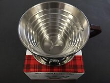 Kalita Wave Dripper Coffee Cup 185 3-4 People for #05033 MADE IN JAPAN