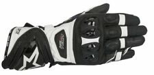 Alpinestars Supertech Racing and sports Gloves - Black and white (12)