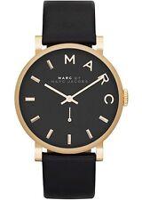 Marc Jacobs Women's 36mm Black Leather Stainless Steel Case Quartz Watch MBM1269