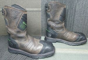 Mens ARIAT Catalyst Vx H2O Composite Toe Leather Work Boots sz 9.5 D