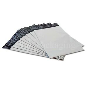 "WHITE Mailing Bags 15x19""(380x480mm)Royal Mail MEDIUM Parcel  Size A3 Any Qty"
