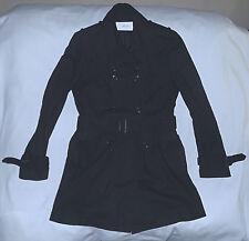 M of M Moods of Man Japan 100% Durable Cotton Trenchcoat-Size 3 Slim-Black-Nice.