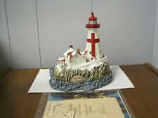 1999 Harbour Lights Lighthouse #708 Christmas East Quoddy Lights, Canada