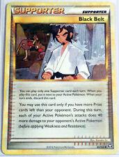 Pokemon Cards BLACK BELT 85/102 HGSS TRIUMPHANT REVERSE HOLO UNCOMMON (EX)