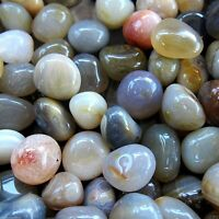 Navrang Agate Tumbled Stone 20-25mm Qty1 Reiki Healing Crystals by Cisco Traders