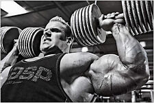 Jay Cutler Bodybuilding Muscolo Palestra Grande Poster Art Print cm 91x61