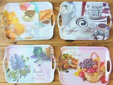 "Melamine Serving Tray - Large 14"" x 10"" - 4 Designs"