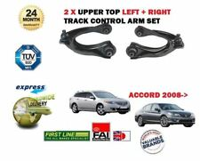 FOR HONDA ACCORD 2008-> 2x FRONT LEFT RIGHT SUPERIOR TRACK CONTROL WISHBONE ARM