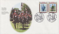 CANADA #1876-1877 46¢ CANADIAN REGIMENTS FIRST DAY COVER