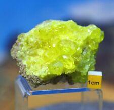 More details for raw elemental sulphur / sulfur crystals - amazing natural mineral specimen - 58g