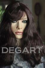 Dega 613 DARK BROWN. Peruka modna, elegancka, naturalna. Włosy syntetyczne.