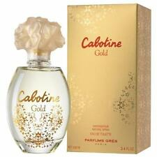 CABOTINE GOLD BY GRES FOR WOMEN-EDT-SPRAY-3.4 OZ-100 ML-AUTHENTIC-MADE IN FRANCE