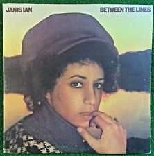 Janis Ian Between The Lines 1975 LP Original Album CBS Pressing PC 33394