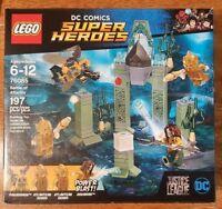 LEGO DC Super Heroes 76085 Aquaman Battle of Atlantis 4 minifigures NIB
