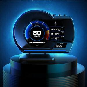 Head Up Display On-board Computer OBD2+GPS Gauge Digital Speedometer Fit For Car