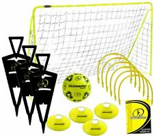 Kids Football training goal, ball, cones, outdoor