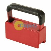 Hand Magnet 11Kg Capacity DIY Automotive Collects Size 35mm X 20mm With Handle