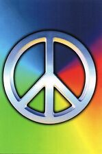 Postcard Peace Symbol Globalize Peace Sign Unused MINT