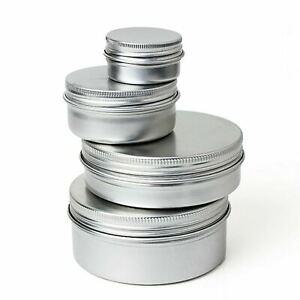 15ml - 150ml Empty Storage Travel Cosmetic Part Pot Jar Tin Container Box Case