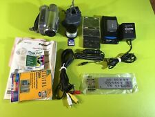 Panasonic Pv-Gs300 3Ccd Mini Dv Camcorder 3.1Mp 10x Sd W/ Extras Tested