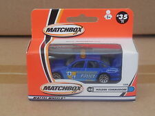 MATCHBOX 1/64  MB35 HOLDEN COMMODORE POLICE