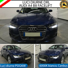 KIT LAMPADE POSIZIONE LUCI DIURNE DRL PSX26W 21 LED CANBUS AUDI A4 B8 FACELIFT