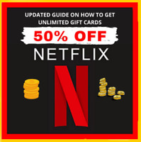 🔥🔥 UPDATED GUIDE 2020 ✅✅ Get Netflix Gift Cards UP To 40-60% Off Discounted ✅✅