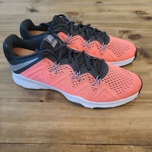 Nike Womens Zoom Size 9.5 Training Condition 852472-600 Pink Gray Running Shoe