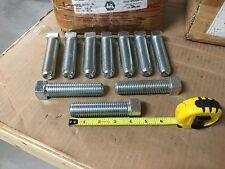 (10) NEW 1-8 x 4 SQ HD Set Screw Cup PT Steel Bolts