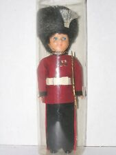 Vintage London Queen's Guard Rifle Soldier England Souvenir Sleepy Eye Doll