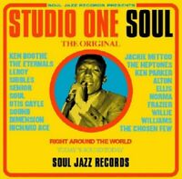 SOUL JAZZ RECORDS PRESENTS/STUDIO ONE SOUL 2 VINYL LP NEW
