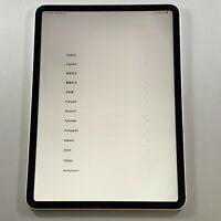 """Great Apple iPad Pro 11"""" 1st Gen 64GB Wifi Cellular Unlocked Silver 4G LTE"""