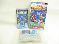 SUPER ROBOT WARS 4th 4 Item ref/ccc Super Famicom Nintendo Japan Game sf